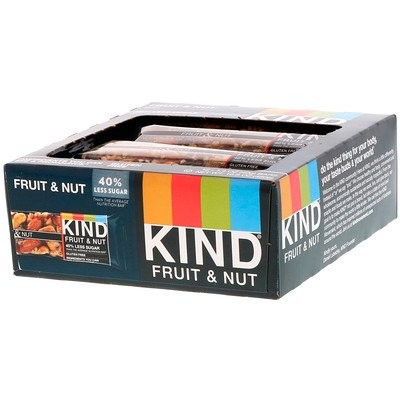 Fruit & Nut Bar, 12 Bars, 1.4 oz (40 g) Each