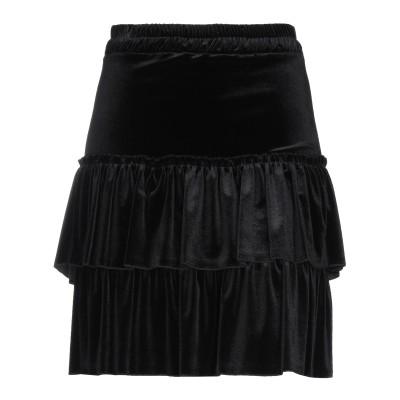 FRACOMINA ひざ丈スカート ブラック S ポリエステル 95% / ポリウレタン 5% ひざ丈スカート