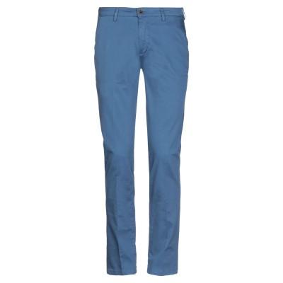 YAN SIMMON パンツ ブルーグレー 46 コットン 98% / ポリウレタン 2% パンツ