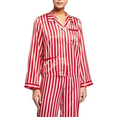 モーガンレーン レディース シャツ トップス Ruthie Stripe  Pajama Top