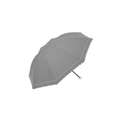 DENIM BORDER PARASOL 日傘 折りたたみ 軽量 ブラック DBP-3F50-SH-BK l 同梱・代引不可 熱中症予防 ソーシャルディスタンス