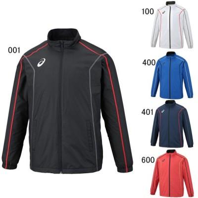 アシックス エクササイズ フィットネス ジャケット シャツ  メンズ ユニセックス 裏トリコットブレーカージャケット ステッチ asics 2031A240