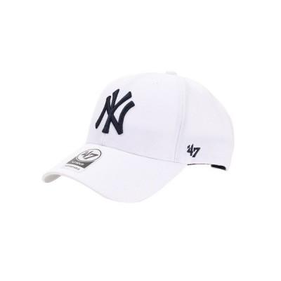 フォーティーセブン(47) 帽子 メンズ ニューヨーク ヤンキース キャップ MVP WH B-MVP17WBV-WHD0 日よけ (メンズ)
