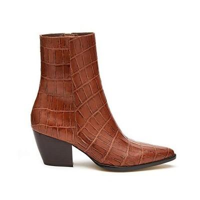 Matisse Caty Brown Croc Leather 10 M【並行輸入品】