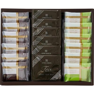 〔ギフト〕スーパースイーツ 焼菓子&紅茶セット B