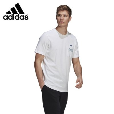 アディダス Tシャツ 半袖 メンズ SCRIBBLE POCKET TEE GN6845-69408 adidas