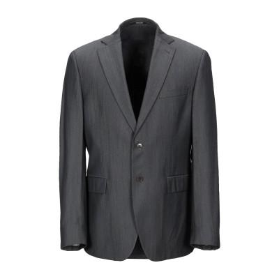 パオローニ PAOLONI テーラードジャケット 鉛色 50 レーヨン 35% / ポリステロール 35% / ウール 30% テーラードジャケット