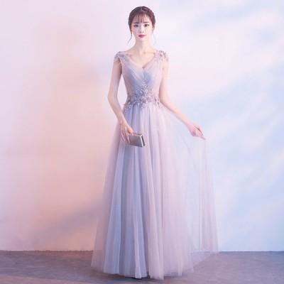 イブニングドレス パーティードレス 安い 可愛い 花嫁 結婚式 披露宴 パーティー ロングドレス ブライダル ウエディング【ロング】
