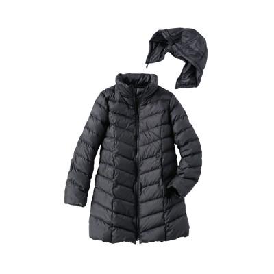 【大きいサイズ】 軽量ロング丈ダウンコート コート, plus size coat