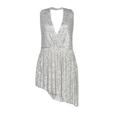 5RUE ミニワンピース&ドレス シルバー M ポリエステル 100% ミニワンピース&ドレス