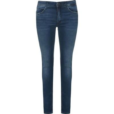 アルマーニ EMPORIO ARMANI レディース ジーンズ・デニム スキニー ボトムス・パンツ Mr Skinny Jeans Denim Blu