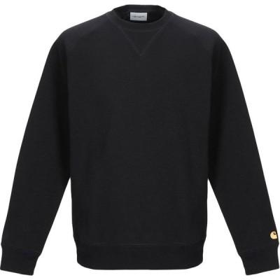 カーハート CARHARTT メンズ スウェット・トレーナー トップス sweatshirt Black