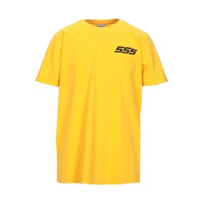 SSS WORLD CORP. T シャツ イエロー S コットン 100% T シャツ