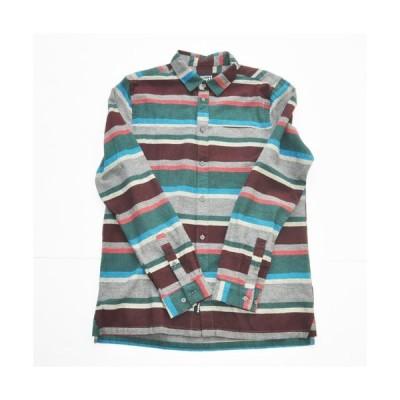 NATIVE YOUTH/ネイティブユース ボーダーロングスリーブシャツ