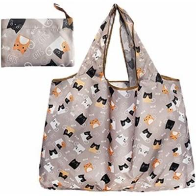 エコバッグ 折りたたみ コンパクト 収納 おおきめ エコバッグ 折りたたみ 買い物袋 防水素材 大容量