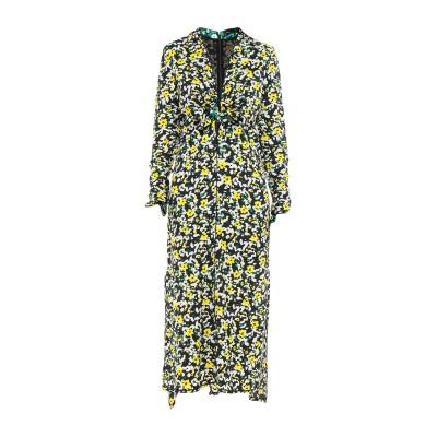 プロエンザスクーラー PROENZA SCHOULER ロングワンピース&ドレス ブラック 6 レーヨン 100% ロングワンピース&ドレス