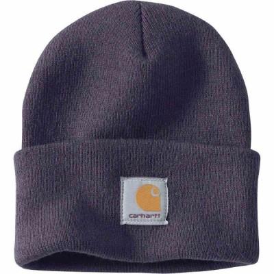 カーハート Carhartt ユニセックス ニット ワッチキャップ 帽子 A18 Watch Hat Graystone