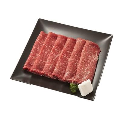 北海道 グルメ 大金畜産 十勝清水産 ひとまい牛ももすき焼用 360g 送料無料 代引不可