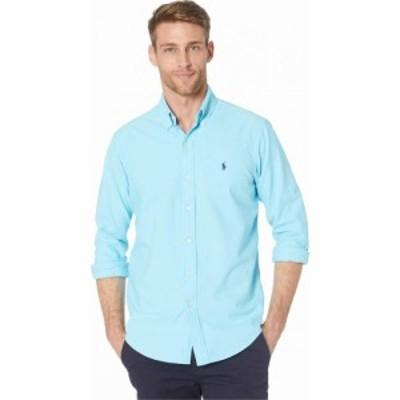 ラルフ ローレン Polo Ralph Lauren メンズ シャツ ワイシャツ トップス Garment Dyed Oxford Shirt Green