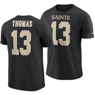 NFL セインツ マイケル・トーマス Tシャツ プレイヤー プライド ネーム&ナンバー ナイキ/Nike ブラック【OCSL】