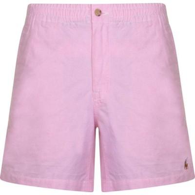 ラルフ ローレン POLO RALPH LAUREN メンズ ショートパンツ ボトムス・パンツ Flat Logo Shorts New Rose (Pink)