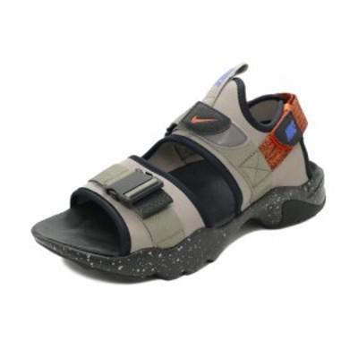 サンダル ナイキ NIKE キャニオンサンダル ムーンフォッシル/レーサーブルー/オレンジ/ブラック CI8797-008 メンズ シューズ 靴 21FA