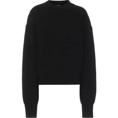 ジョゼフ Joseph レディース ニット・セーター トップス Ribbed-knit wool sweater Black