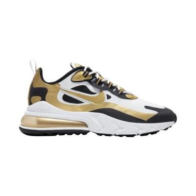 (取寄)ナイキ メンズ シューズ エア マックス 270 リアクト Nike Men's Shoes Air Max 270 ReactWhite Metallic Silver Black