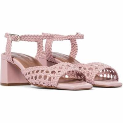 スリアーズ マルティネス Souliers Martinez レディース サンダル・ミュール シューズ・靴 Ischia 50 woven leather sandals Pale Pink