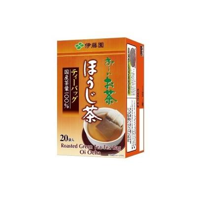伊藤園 おーいお茶 ほうじ茶 ティーバッグ 20袋(10個入×1ケース)