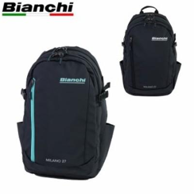 Bianchi ビアンキ バッグ リュック ビジネスリュック メンズ レディース バックパック デイパック ブラック TBPM