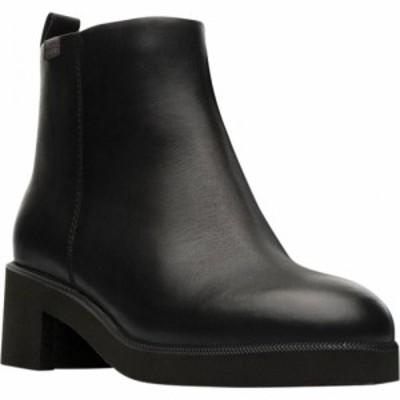 カンペール Camper レディース ブーツ ショートブーツ シューズ・靴 Wonder Ankle Boot Black Smooth Leather