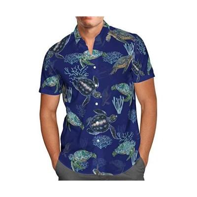 PLstar Cosmos Men's Button Down Shirts Short Sleeve Shirt Hawaii Shirt Casu