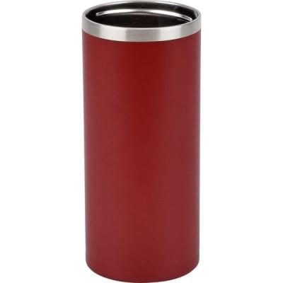 和平フレイズ 冷たさ長持ち! 缶ホルダー 500ml アースレッド 真空断熱構造 保温 保冷 タンブラーにもなる 2WAYタイプ RH-1535 フォ