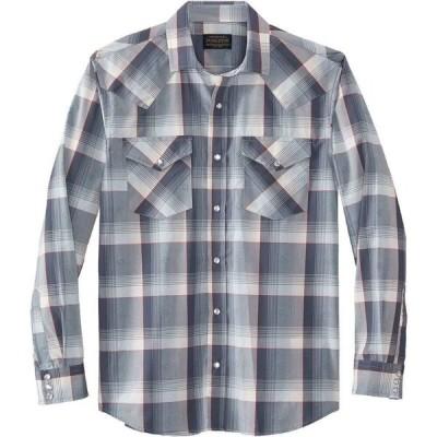 ペンドルトン Pendleton メンズ シャツ トップス Frontier Long - Sleeve Shirt Ivory/Blue/Red Plaid