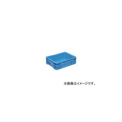 DICプラスチック 容器資材 D型コンテナ D-1 ボックス型 外寸:W366×D274×H109 青 D1 B(2430487) JAN:4968838906030