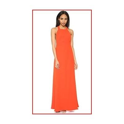 【新品】Jill Jill Stuart Women's T-Strap Sleeveless A-Line Gown, Tangerine, 10【並行輸入品】