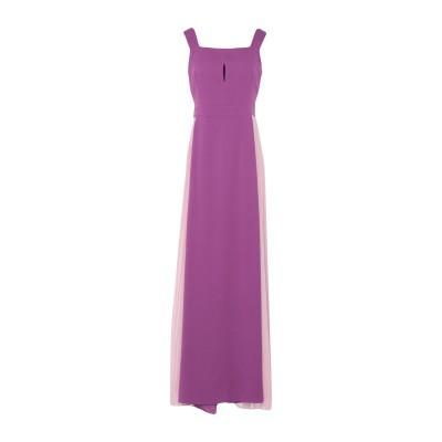 HANITA ロングワンピース&ドレス ライトパープル XS ポリエステル 100% ロングワンピース&ドレス
