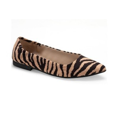 サンアンドプラスストーン レディース サンダル シューズ Jilly Pointed-Toe Flats, Created for Macy's Tiger