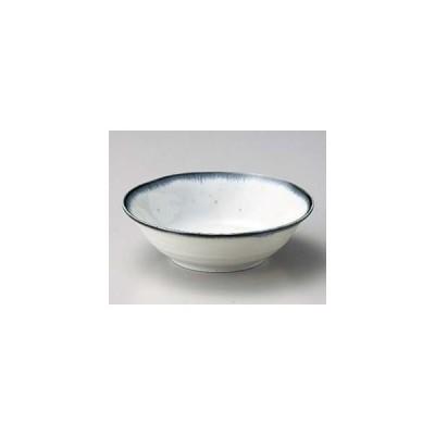 和食器 ネ061-297 白均窯たたき4.0丼