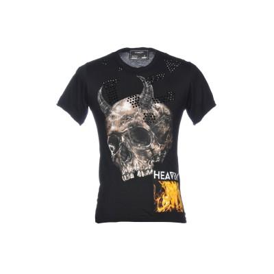 _ATELIER DOMREBEL T シャツ ブラック XS 100% コットン T シャツ