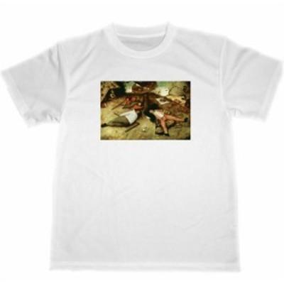 ピーテル・ブリューゲル ドライ Tシャツ 怠け者の天国 名画 絵画 グッズ