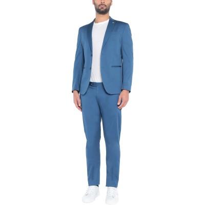 BARBATI スーツ ブルーグレー 44 コットン 97% / ポリウレタン 3% スーツ