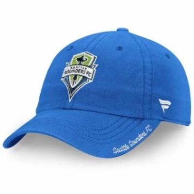 Fanatics Branded ファナティクス ブランド スポーツ用品  Fanatics Branded Seattle Sounders FC Womens Blue Fundamental Adjustable H