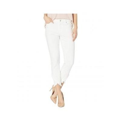 Liverpool ライブプール レディース 女性用 ファッション ジーンズ デニム Abby Crop Skinny Front Scallop Hem Jeans in Bright White - Bright White