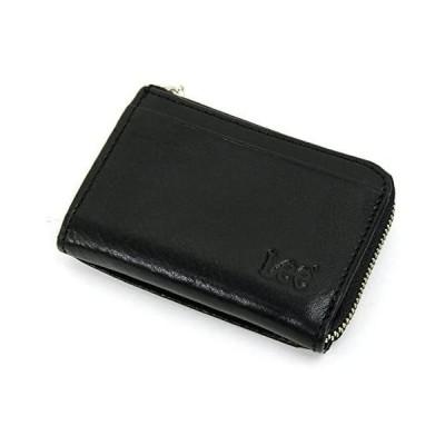 Lee(リー) コインケース 小銭入れ パス入れ付き 0520236A (ブラック)