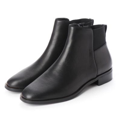 ギンザワシントン 銀座ワシントン 427-2514 シンプルショートブーツ (ブラック)