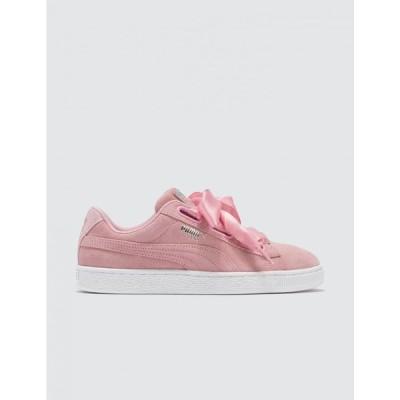 プーマ Puma レディース スニーカー シューズ・靴 Suede Heart Galaxy Sneaker Pink