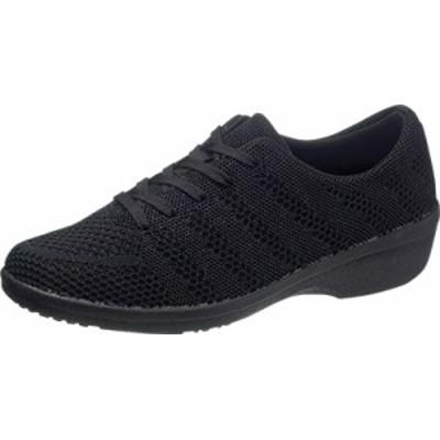 asahi shoes(アサヒシューズ) スニーカー アサヒ L517 C265【ブラック】 レディース KF71153