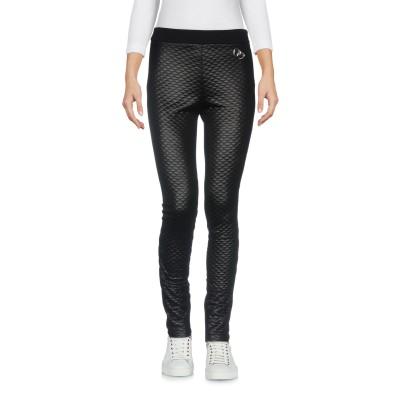 ラブ モスキーノ LOVE MOSCHINO パンツ ブラック 44 ポリエステル 100% / コットン パンツ